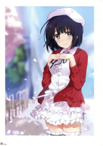Rating: Safe Score: 58 Tags: dress katou_megumi milky_been! ogipote saenai_heroine_no_sodatekata thighhighs User: Hatsukoi