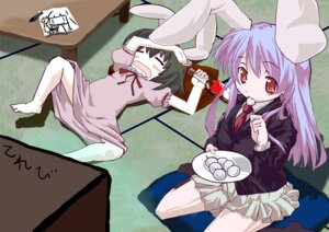 Rating: Safe Score: 7 Tags: inaba_tewi nobon reisen_udongein_inaba touhou User: hirotn