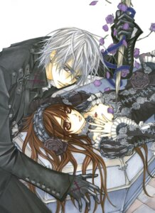 Rating: Safe Score: 11 Tags: cross_yuuki hino_matsuri kiryuu_zero vampire_knight User: Radioactive