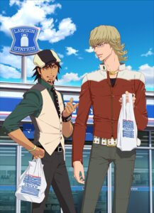 Rating: Safe Score: 6 Tags: barnaby_brooks_jr kaburagi_t_kotetsu male megane tiger_&_bunny User: blooregardo
