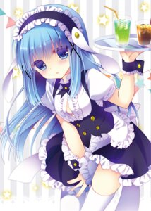 Rating: Safe Score: 88 Tags: ash_(artist) bra gochuumon_wa_usagi_desu_ka? kafuu_chino maid thighhighs User: blooregardo