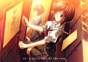 Rating: Questionable Score: 15 Tags: 2c=galore ef_~a_fairytale_of_the_two~ hirono_nagi minori seifuku User: admin2