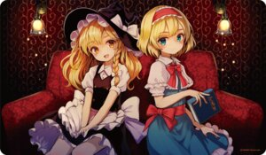 Rating: Safe Score: 45 Tags: alice_margatroid dress kirisame_marisa pyonsuke0141 touhou witch User: nphuongsun93