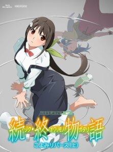 Rating: Safe Score: 23 Tags: disc_cover hachikuji_mayoi monogatari_(series) ononoki_yotsugi owarimonogatari seifuku tagme User: saemonnokami