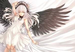 Rating: Safe Score: 65 Tags: dress rozen_maiden shiokonbu suigintou wings User: Share