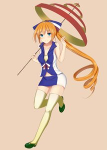 Rating: Safe Score: 14 Tags: ahonan_illust anthropomorphization orangina thighhighs User: 23yAyuMe