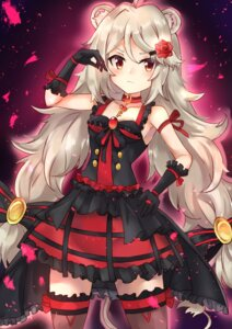 Rating: Safe Score: 16 Tags: ailane animal_ears lolita_fashion show_by_rock!! soniker tail thighhighs User: ryoga828