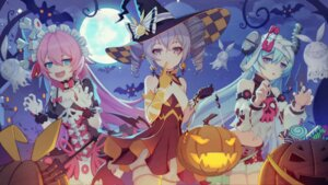 Rating: Questionable Score: 29 Tags: bandages benghuai_xueyuan bloomers bronya_zaychik dress halloween honkai_impact liliya_olenyeva maid rozaliya_olenyeva torn_clothes weapon wings witch wubaiye_zhu User: Dreista