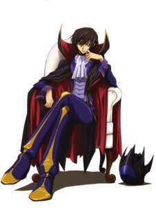 Rating: Safe Score: 13 Tags: code_geass kadekaru_chikashi lelouch_lamperouge male User: Aurelia