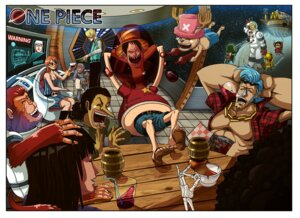 Rating: Safe Score: 6 Tags: brook franky monkey_d_luffy nami nico_robin one_piece roronoa_zoro sanji tony_tony_chopper usopp User: Brufh