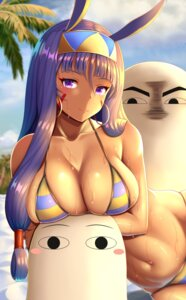 Rating: Questionable Score: 39 Tags: animal_ears bikini bunny_ears fate/grand_order medjed nitocris_(fate/grand_order) swimsuits wet zukky User: Mr_GT