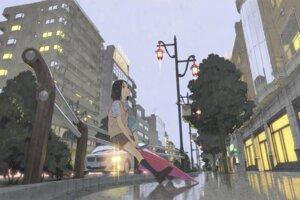 Rating: Safe Score: 21 Tags: seifuku tateishi_kiyoshi wet User: eridani