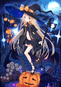 Rating: Safe Score: 25 Tags: abigail_williams_(fate/grand_order) bandaid fate/grand_order halloween pantsu sakura_nnk thighhighs witch User: Mr_GT