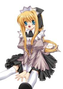 Rating: Safe Score: 6 Tags: air dress hinoue_itaru kamio_misuzu key lolita_fashion thighhighs User: marechal