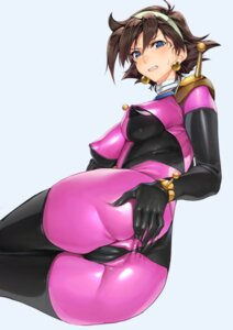 Rating: Explicit Score: 62 Tags: anus ass ass_grab bodysuit cameltoe erect_nipples g_gundam gundam nopan rain_mikamura ts422 User: Mr_GT