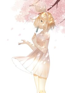Rating: Safe Score: 19 Tags: dress kagamine_rin see_through tattoo vocaloid weitu User: mattiasc02