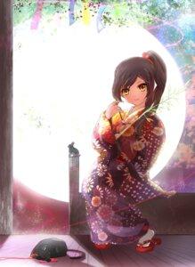 Rating: Safe Score: 30 Tags: kimono kio_sayuki k-on! nakano_azusa neko User: fireattack