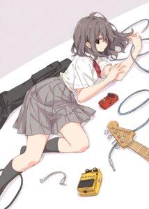 Rating: Safe Score: 24 Tags: guitar nikotamu seifuku User: saemonnokami