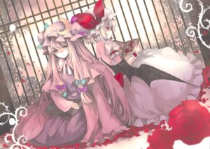 Rating: Safe Score: 17 Tags: hina patchouli_knowledge remilia_scarlet touhou wings User: Radioactive