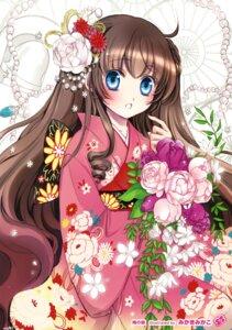 Rating: Safe Score: 25 Tags: kimono mikaki_mikako User: Twinsenzw