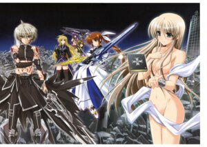 Rating: Questionable Score: 27 Tags: fate_testarossa higa_yukari isis_eaglet lily_strosek mahou_senki_lyrical_nanoha_force mahou_shoujo_lyrical_nanoha naked takamachi_nanoha tohma_avenir yagami_hayate User: Jigsy