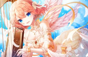 Rating: Safe Score: 28 Tags: cleavage dress onsem wings User: BattlequeenYume