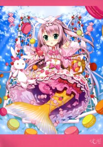 Rating: Safe Score: 38 Tags: cardfight_vanguard dress fujima_takuya mermaid monster_girl tail User: drop