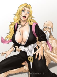 Rating: Explicit Score: 20 Tags: azasuke azasuke_wind bleach censored cleavage matsumoto_rangiku no_bra nopan penis pussy sex torn_clothes User: Radioactive