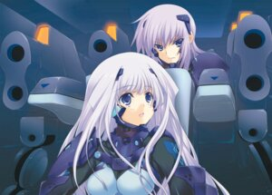 Rating: Safe Score: 17 Tags: age_(studio) bodysuit cryska_barchenowa inia_sestina muvluv muvluv_alternative total_eclipse User: CryFleuret