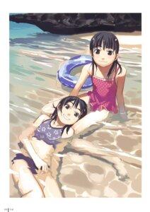 Rating: Safe Score: 11 Tags: bikini swimsuits takamichi User: Radioactive