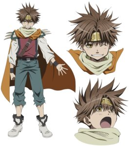 Rating: Safe Score: 3 Tags: character_design expression male saiyuki satou_youko son_goku User: charunetra