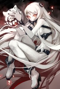 Rating: Safe Score: 31 Tags: airfield_hime breasts erjiu heels kantai_collection no_bra User: Mr_GT