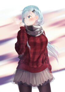 Rating: Safe Score: 31 Tags: kantai_collection pantyhose suzuya_(kancolle) yukai_nao User: Mr_GT