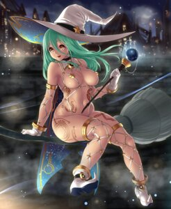 Rating: Questionable Score: 113 Tags: cleavage heels houtengeki thighhighs witch User: Hentar