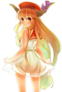 Rating: Safe Score: 27 Tags: dress horns ibuki_suika nishiuri see_through touhou User: KazukiNanako