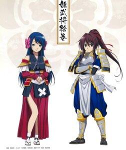 Rating: Safe Score: 22 Tags: armor japanese_clothes miyamae_shinichi niwa_nagahide niwa_nagahide_(nobuna) oda_nobuna_no_yabou shibata_katsuie shibata_katsuie_(nobuna) User: Radioactive