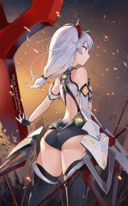 Rating: Safe Score: 83 Tags: aliceblue ass benghuai_xueyuan bikini_armor honkai_impact theresa_apocalypse thighhighs weapon User: Mr_GT