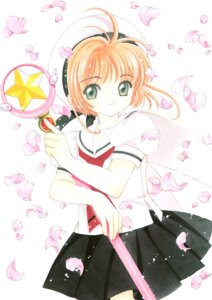 Rating: Safe Score: 4 Tags: card_captor_sakura clamp kinomoto_sakura possible_duplicate seifuku tagme weapon User: Omgix