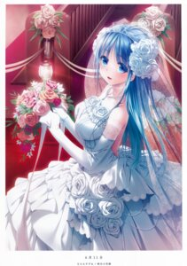 Rating: Safe Score: 76 Tags: dress narumi_suzune scanning_resolution see_through wedding_dress User: YamatoBomber