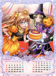 Rating: Safe Score: 3 Tags: calendar halloween houjou_hibiki hummy minamino_kanade pretty_cure suite_pretty_cure takahashi_akira thighhighs witch User: crim