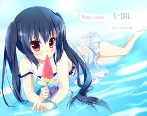 Rating: Safe Score: 39 Tags: ame_to_yuki k-on! nakano_azusa wet_clothes User: blooregardo