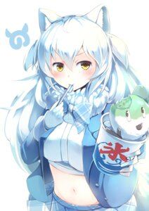 Rating: Safe Score: 16 Tags: animal_ears arctic_wolf kanzakietc kemono_friends kitsune tail User: charunetra