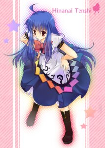 Rating: Safe Score: 26 Tags: hinanawi_tenshi mutsu touhou User: Radioactive