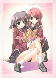 Rating: Safe Score: 16 Tags: boy_meets_girl kasugano_haruna seifuku shintarou tsubasa_miu User: admin2