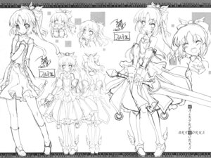 Rating: Safe Score: 19 Tags: armor dress sketch sword tagme tsurugi_hagane valkyrie_works User: akusiapa