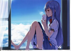 Rating: Safe Score: 113 Tags: feet gekidoku_shoujo hinanawi_tenshi ke-ta touhou User: Victor2015