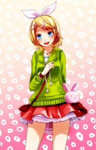 Rating: Safe Score: 21 Tags: kagamine_rin sweater tsukishiro_saika vocaloid User: charunetra