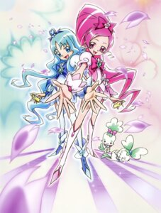 Rating: Safe Score: 4 Tags: chypre coffret dress hanasaki_tsubomi heartcatch_pretty_cure! heels kurumi_erika pretty_cure thighhighs umakoshi_yoshihiko User: RKO