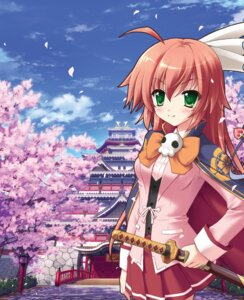 Rating: Safe Score: 25 Tags: apricot fixme oda_nobunaga oda_nobunaga_(ouka_sengoku) ouka_sengoku seifuku stitchme sword toma User: aiur