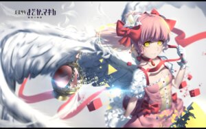 Rating: Safe Score: 31 Tags: dress hk_(artist) kaname_madoka puella_magi_madoka_magica wings User: charunetra